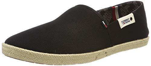 Hilfiger Denim Herren Tommy Jeans Summer Shoe Oxfords, Schwarz (Black 990), 45 EU -