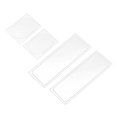 Sharplace HD Drone Camera Lens Protective Fiberglass Film Soft 4 pieces Scratch-resistant for DJI SPARK