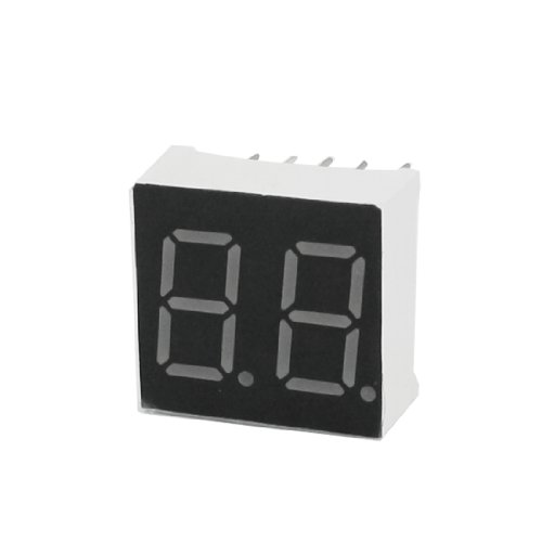 DIP 2-Digit 7 Segment 10 pin 15 x 14 mm gemeinsame Anode rote LED Anzeige (X 10-appliance-modul)