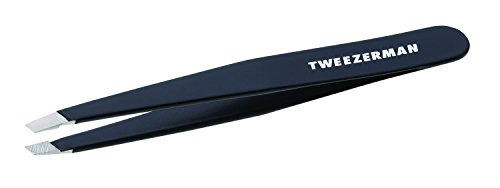 Tweezerman - Slant Tweezer Black - Pincettes Slant Black