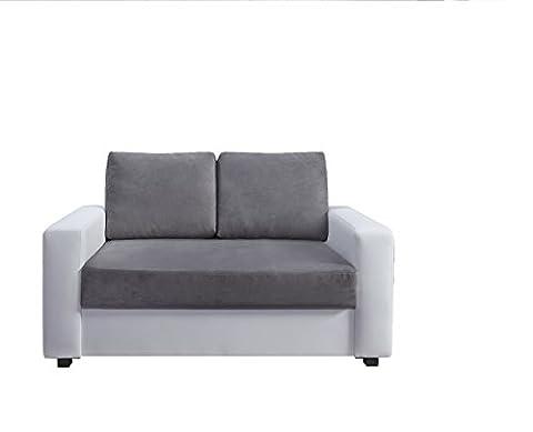 Canape Fixe 2 Places - Relaxima Loft Canapé Fixe 2 Places Bois