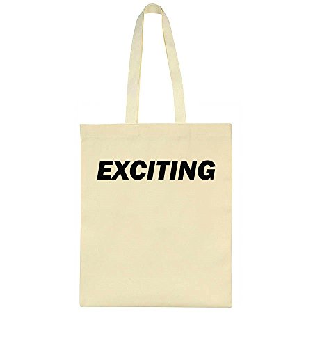 Exciting Simple Design Leinentasche Tote Bag