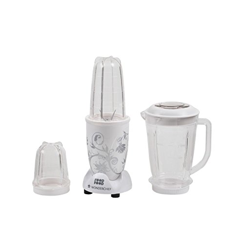 Wonderchef Nutri-blend Juicer Mixer Grinder With Big Mixer Jar (white)
