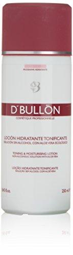 D'Bullón Profesional Loción Hidratante Tonificante, Solución sin Alcohol con Aloe Vera Ecológico - 250 ml