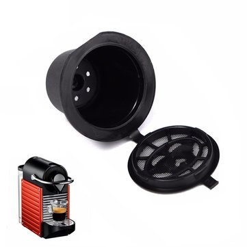 World2home Refillable Coffee Capsule Cup Reusable Refilling Filter for Nespresso Machine