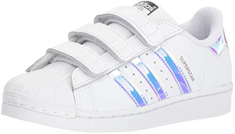 des chaussures adidas originals / superstar c (petit), blanc / originals Blanc  / argent métallique, 12 m petit e041ba