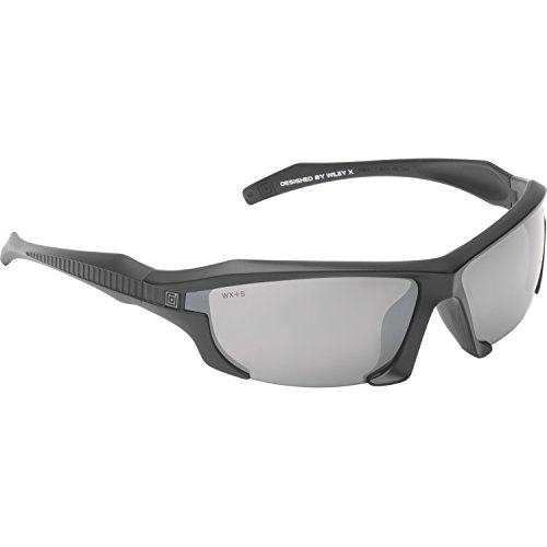5.11 Tactical 52061-917-1 SZ Burner Half Frame Sunglasses, Matte Black