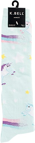 K-Bell Neuheit Knie Hohe Socken, Mehrfarbig, 40,64x 8,89x 1, 27cm - Neuheit Socken Knie Hoch