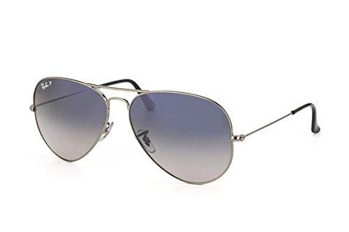 Ray Ban RB3025 W3277 AVIATOR 58mm Sunglasses New - Size: 58--14--135 - Color: Crystal Gunmetal