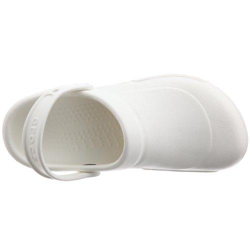 crocs Specialist 10073-100-004 Unisex-Erwachsene Sicherheitsschuhe Weiß (White)