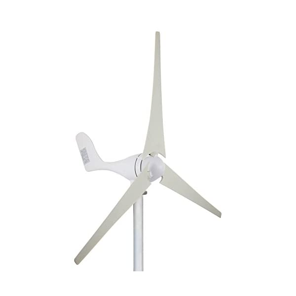 FORAVER 700W 24V Wind Turbine Generator 3 Blades Kit MPPT Charge Controller Horizontal Wind Turbine Generator Power Supplementation 1