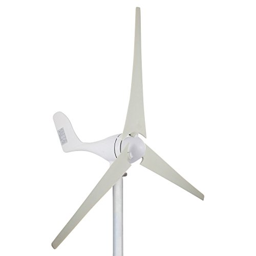 Cueffer 700 W 24V/ 200 W 12V Generador de turbina eólica Aerogenerador de 3 palas Generador de...