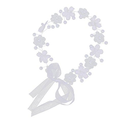 MagiDeal Haarschmuck Haar rebe Hochzeit Haarband Stirnband Haarzusätze Mit Kristall