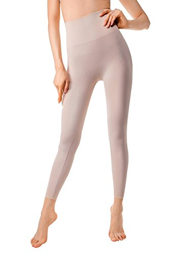 wear For Women Yoga Pant And Leggings Hips And Thighs Body Shaper Medium Light Nude ()