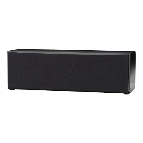 """JBL Studio 225C 2,5-Wege Dual 4"""" Center-Lautsprecher mit Dualen 100mm Mittel-Tieftönern, 1"""" CMMD Lite-Hochfrequenztreiber und High Definition Imaging (HDI)-Waveguide Technologie - Schwarz"""