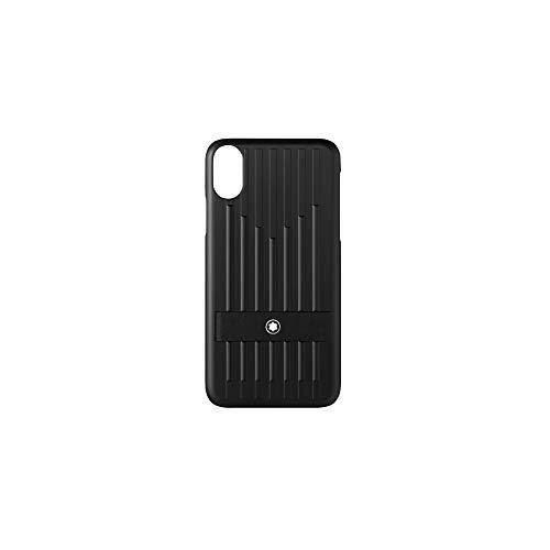 Montblanc My Montblanc Nightflight Hardphone Case Apple iPhone XS Schwarz Taschenorganizer, 14 cm, Schwarz