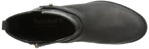 Timberland Ek Savin Hill Strap Mid Boot, Boots femme Noir (Black)