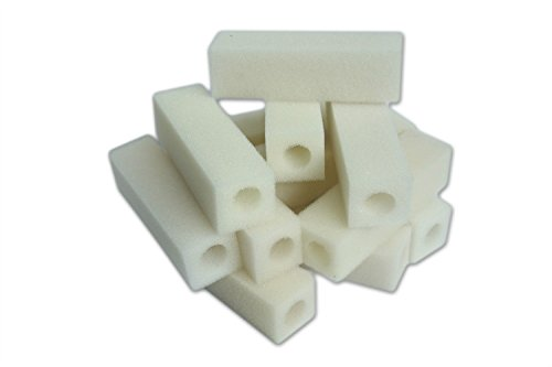 LTWHOME Compatible Cartouche Mousseux Filtration Convient pour Eheim 2012 Ramassage Filtres 2617120 (Paquet de 200)