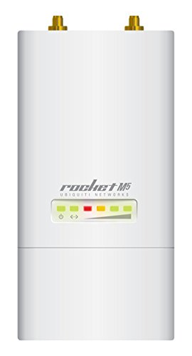 Ubiquiti Networks Rocket M5 150Mbit/s Power Over Ethernet (PoE) WLAN Access Point - WLAN Access Points (150 Mbit/s, 10,100 Mbit/s, 5.17-5.875, 8 MB, 128 MB, 40 MHz) -