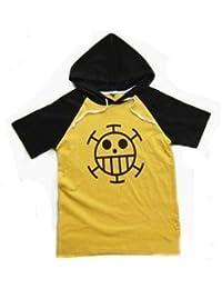 ONE PIECE cosplay costume one piece Trafalgar Law wind short-sleeved T-shirt hoodie XL (LL) Men's / Women's (japan import)