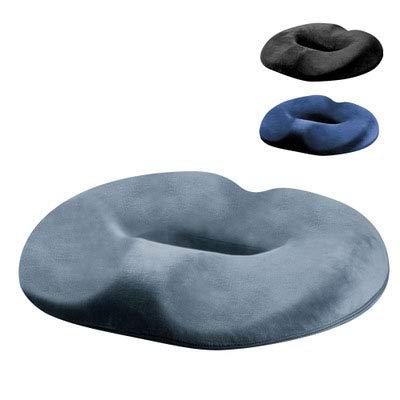 Memory Foam rutschfeste Sitzkissen - Hämorrhoidenbehandlung Donut-steißbein-Kissen, Prostata-Kissen, Schwangerschaft, Nachwuchs, Wundliegen, Steißbein, Ischias, Ultra Premium Comfort Foam,Bronze -