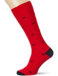 Hackett London All Over Logo Sock, Calcetines para Hombre