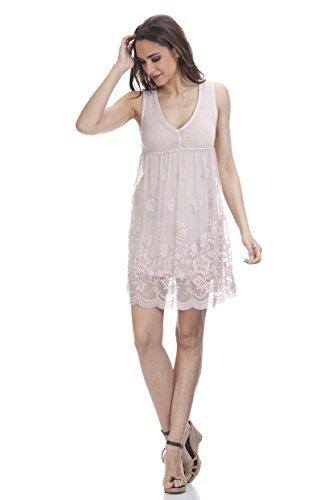 Tantra Damen Kleid, Casual 3108 Rosa