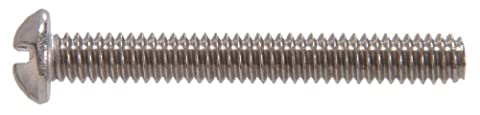 The Hillman Group The Hillman Group 944 Stainless Steel Round Head Machine Screw 6-32 x 1/2 In.
