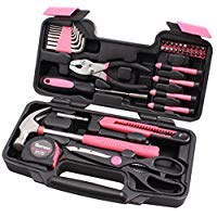CARTMAN General Werkzeug Set Technopro, Farben für Option, 39Pk-Pink, rose