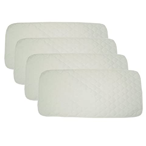 American Baby Company Organic Quilted Mattress Multi-Use Pad, 4 Pack