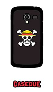 Caseque One Piece Strawhat Pirates Back Shell Case Cover For Samsung Galaxy Ace 2