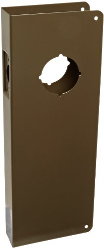 Don-Jo 14-CW 22 Gauge Stainless Steel Classic Wrap-Around Plate, Oil Rubbed Bronze Finish, 5 Width x 14 Height, For Simplex 1000 Series and Alarm Lock 3000 Series by Don-Jo (10b Finish)