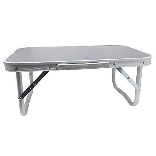 Aluminium Klapptisch 56x34x24cm | Multifunktionaler Garten- und Campingtisch | Campingmöbel von ToCi (Aluminium-tisch Kleine)