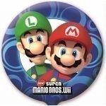 Super Mario Bros Wii Party 45cm Folien Ballon Ohne Aufschrift (Mario Super Bros Ballons)