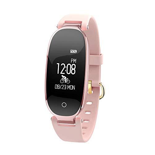 Basumone S3 BT Smartwatch Sport Armband Herzfrequenzmesser Fitness Activity Tracker Watch Gold AC1252