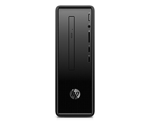 HP Slimline 290-p0051ns - Ordenador de sobremesa (Intel Core i5-8400, 8GB RAM, 1TB HDD, Intel Graphics, Windows 10), Color Negro, Con Teclado QWERTY y Ratón