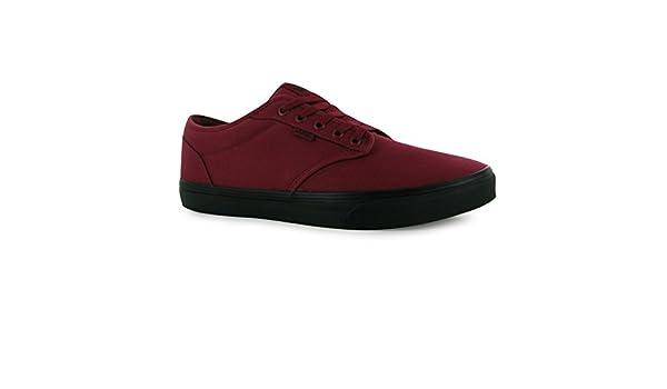 Vans Atwood Seasonal Canvas Schuhe Herren rotschwarz Casual