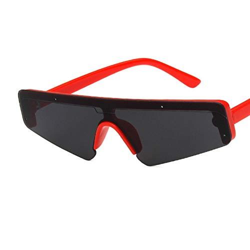 WTACK Mode Frauen SonnenbrilleCat Eye Sonnenbrille Weiblich Männlich Spiegel Sport Siamesische BrillenAugen