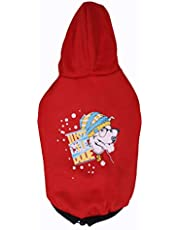 Choostix Just Cool Winter Hoodie, Red (Size 26)