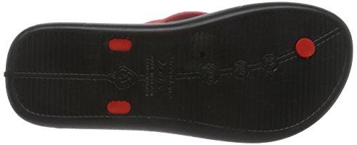 LunarStrike - Scarpe da Spiaggia e Piscina uomo Rosso (Red (Red 23542))