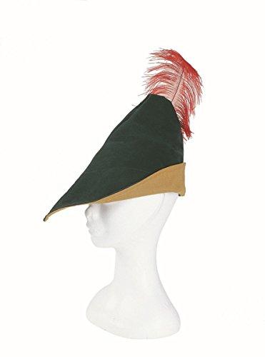 Wilbers Kostüm Zubehör Robin Hood Hut Karneval Fasching