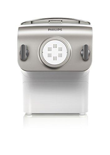 Philips HR2355/12 Pastamaker (DE Version), Automatisches Mischen, Kneten und Ausgeben, 200 W, 4 Aufsätze, champagnerfarben - 2