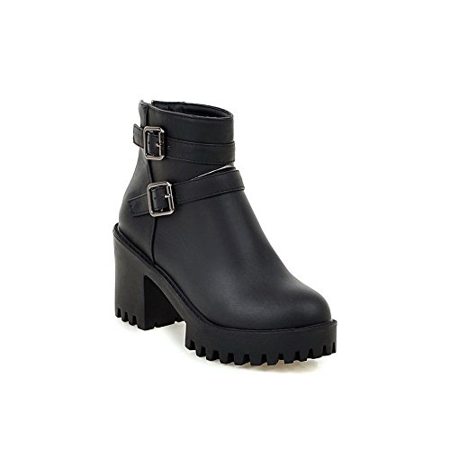 balamasa-womens-chunky-heels-buckle-platform-black-imitated-leather-boots-7-uk