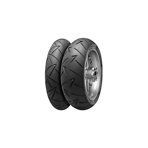 CONTINENTAL 180/55 ZR17 73W ROADATTACK 2 EVO GT -55/55/R17 73W - A/A/70dB - Moto Pneu