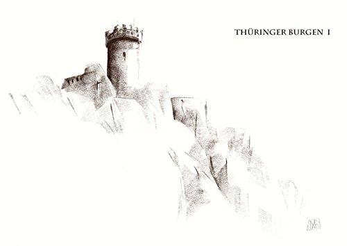 Kunstkartenmappe Thüringer Burgen I