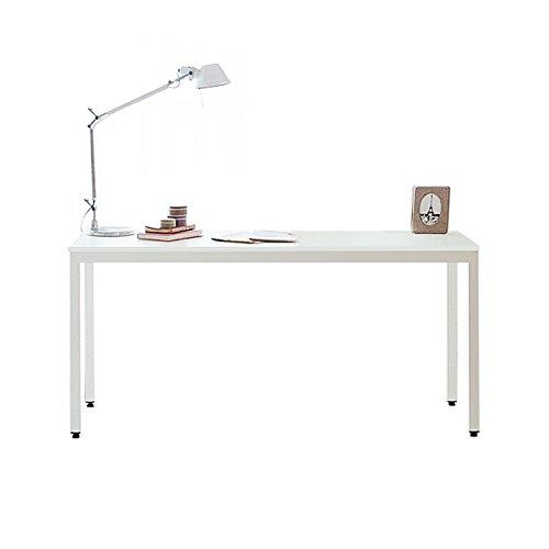 Need scrivanie 138x55cm ufficio postazioni di lavoro per computer scrivania pc tavoli sala riunioni in legno scrivania, bianco ac3dw-140-n