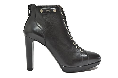 Nero giardini polacchini scarpe donna nero 9742 elegante a719742de 38