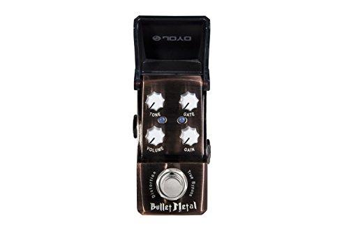 JOYO JF-321 Bulllet Metal Distortion & Noise Gate Ironman Mini Gitarre Effektpedal - Guitar Gate Noise Pedal