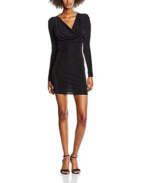 New Look Damen Kleid Acetate Cowl Neck