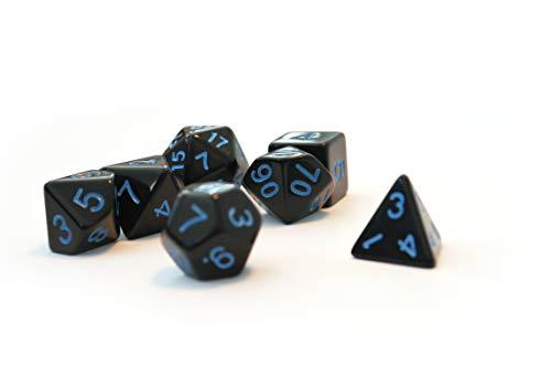 Dice4friends DIC86000 - Cubos para bebé, Color Negro y Azul